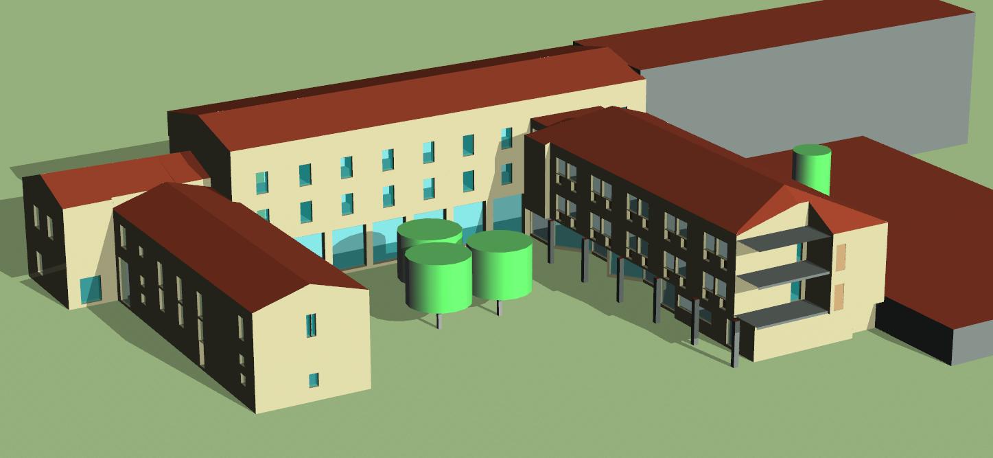 Modelisation 3D simulation thermique dynamique Lyon