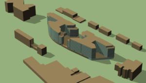 Modélisation 3D Simulation Thermique Dynamique bureaux Bagneux, Hauts de Seine
