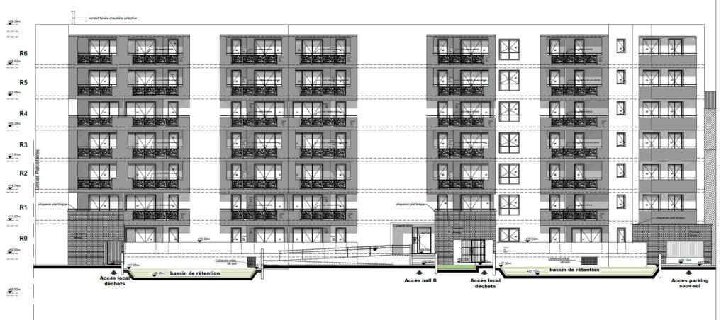 RT2012 bâtiment logements collectifs Rosny-sous-Bois
